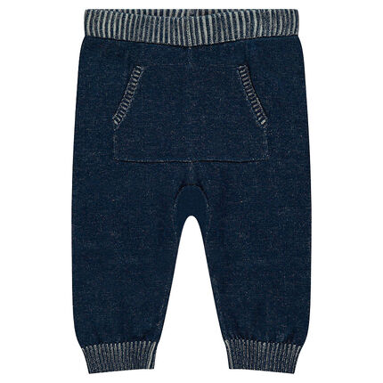 Παντελόνι σε λεπτή πλέξη