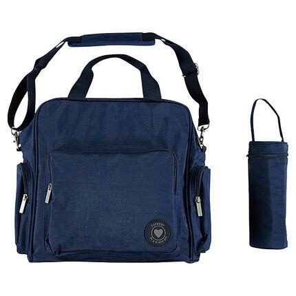 Τσάντα αλλάγματος με τσέπες και θερμός με φερμουάρ