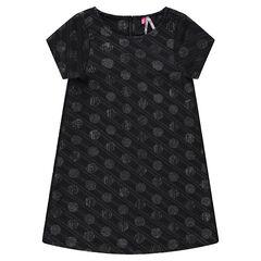 Κοντομάνικο φόρεμα με ... da005189c72
