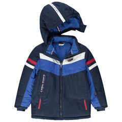 Παιδικά - Αδιάβροχο μπουφάν του σκι με τσέπες με φερμουάρ και επένδυση φλις