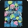 Παιδικά - Αμάνικο μπλουζάκι με αθλητική πλάτη με διασκομητικό σχέδιο