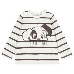 T-shirt μακρυμάνικο σχέδιο 101 Dalmatiens Disney για bebe αγόρι , Orchestra