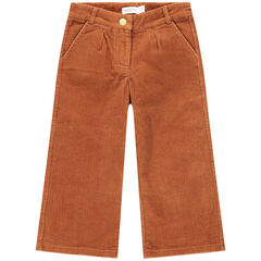 Παντελόνι σε στιλ palazzo από βελούδο κοτλέ
