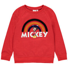 Sweat en molleton print Mickey Disney