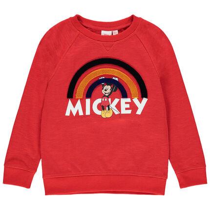 Φούτερ molleton με τύπωμα Mickey Disney