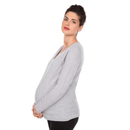 Πλεκτό εγκυμοσύνης από κασμίρ