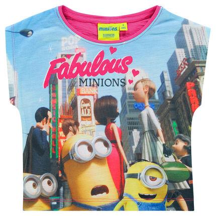 Tee-shirt manches courtes print Les Minions
