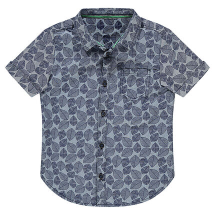 Κοντομάνικο πουκάμισο σε χαβανέζικο στιλ