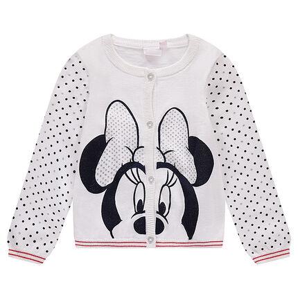 Πλεκτή ζακέτα με στάμπα Minnie της Disney