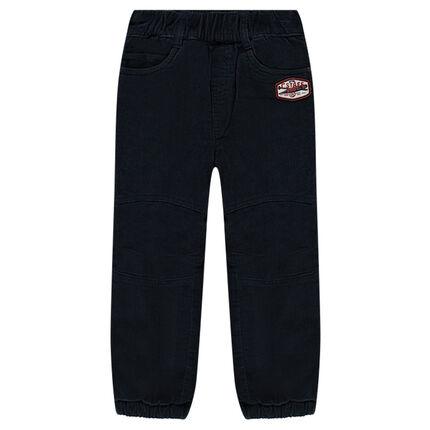 Βελουτέ παντελόνι με επένδυση φλις