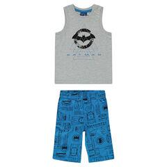 Pyjama en jersey print BATMAN
