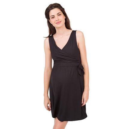 Αμάνικο φόρεμα εγκυμοσύνης και θηλασμού