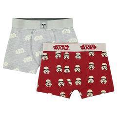 Σετ με 2 ασορτί μποξεράκια με μοτίβο Star Wars™ / Stormtrooper σε όλη την επιφάνεια