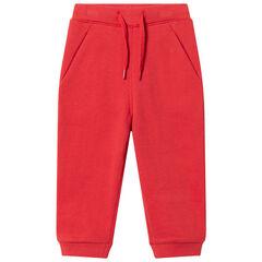 Pantalon de jogging en molleton à poches italiennes