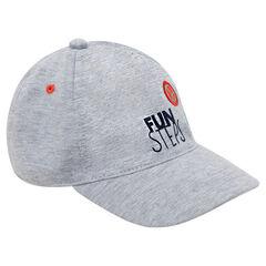 Ζέρσεϊ καπέλο με φαντεζί στάμπα και σήμα