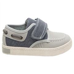 Χαμηλά αθλητικά παπούτσια από δύο υλικά με αυτοκόλλητο βέλκρο, νούμερα 24 έως 27