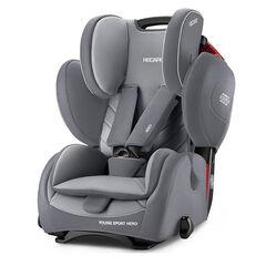 Καθισμα Αυτοκινήτου Young Sport Hero - Aluminium Grey