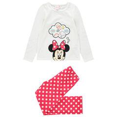 Βελουτέ πιτζάμα με στάμπα Minnie της Disney