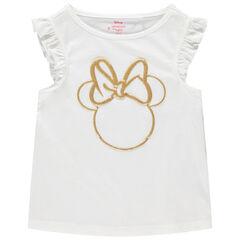 Αμάνικο μπλουζάκι σχέδιο Minnie με glitter  , Orchestra