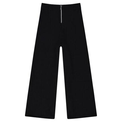 Παιδικά - Φαρδύ παντελόνι μέχρι τον αστράγαλο από ύφασμα με κυψελωτή ύφανση