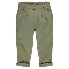 Junior - Pantalon chino à chevrons