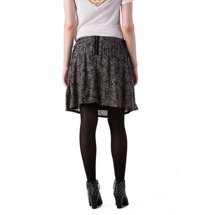 Κοντή εμπριμέ φούστα