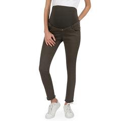 Παντελόνι εγκυμοσύνης από τουίλ σε γραμμή slim με τσέπες