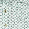 Κοντομάνικο εμπριμέ πουκάμισο με μοτίβο ακτινίδια