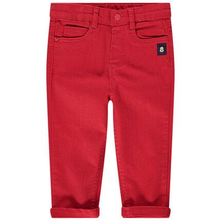 Κόκκινο παντελόνι με φάσες Μίκυ της Disney