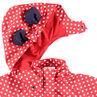 Αντιανεμικό αδιάβροχο μπουφάν με πουά και αυτάκια Μίνι της ©Disney