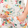 Ολόσωμη φόρμα-σορτς εγκυμοσύνης με εμπριμέ μοτίβο