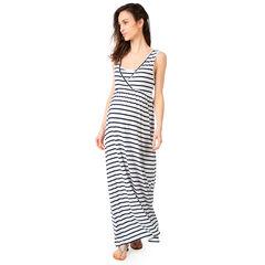 Μακρύ φόρεμα εγκυμοσύνης και θηλασμού