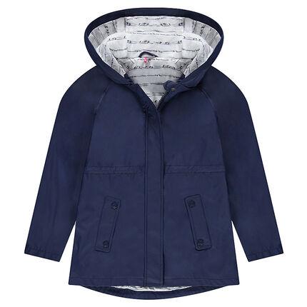0f7facdfee5 Παιδικά - Αντιανεμικό αδιάβροχο μπουφάν με ζέρσεϊ επένδυση ...