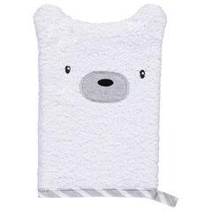 Πετσετέ γάντι μπάνιου με σχήμα ζωάκι.