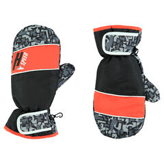 Παιδικά - Αδιάβροχα γάντια του σκι με γεωμετρικό μοτίβο
