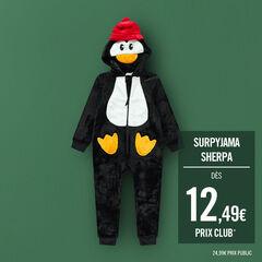 Υπνόσακος με πιγκουίνο από sherpa