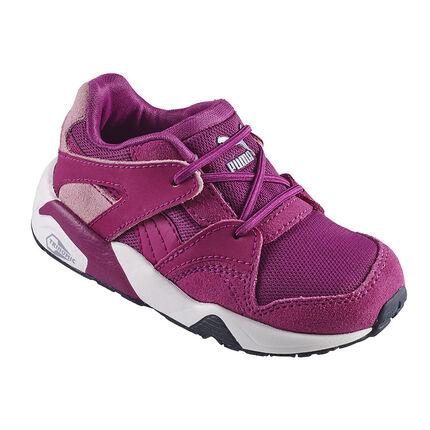 PUMA - Μωβ αθλητικά παπούτσια με ελαστικά κορδόνια