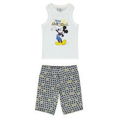 Κοντή πιτζάμα ζέρσεϊ με τον Mickey της Disney