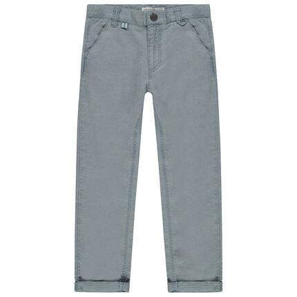 Παντελόνι chino με λοξές τσέπες