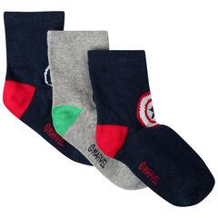 Lot de 3 paires de chaussettes motif Marvel