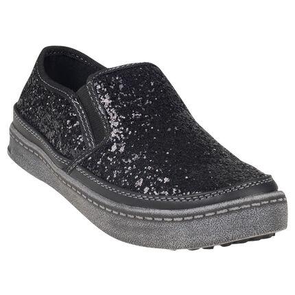 Χαμηλά αθλητικά παπούτσια με παγιέτες σε νούμερα από 24 έως 27
