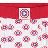 Παιδικά - Βαμβακερά μποξεράκια με μοτίβο Captain America της ©Marvel