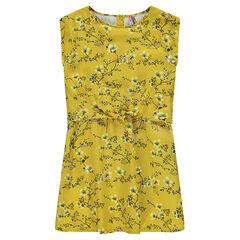Παιδικά - Φόρεμα 2 σε 1 με φλοράλ μοτίβο