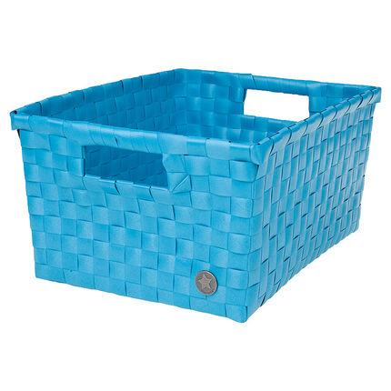 Πλεκτό πλαστικό καλάθι 31 x 15 x 23 εκ.