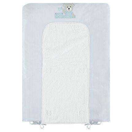 Κάλυμμα αλλαξιέρας από ποπλίνα/πετσέτα