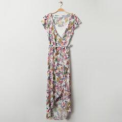 Φόρεμα εγκυμοσύνης κοντομάνικο με σχέδιο jungle , Prémaman