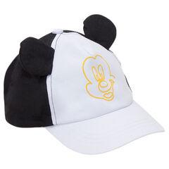 Καπέλο δίχρωμο με στάμπα Mickey της ©Disney