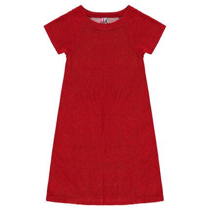 Παιδικά - Ημίμακρυ φόρεμα με φαντεζί μοτίβο - Orchestra GR 8cb7811400f