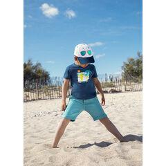 T-shirt manches courtes à print esprit surf pour enfant garçon , Orchestra