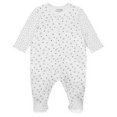Φορμάκι ύπνου βαμβακερό με αστεράκια από τη γέννηση έως 3 μηνών